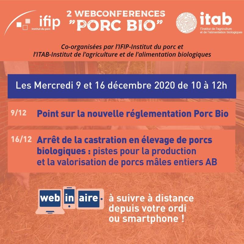 Journée Porc Bio Mercredi 9 décembre 2020