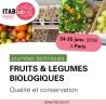Billet-Journées techniques Fruits et Légumes bio Qualité et conservation Les 24 et 25 janvier 2018 à Paris