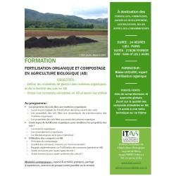 27-28 février : formation fertilisation et compostage en AB